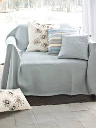 jeté de canapé en hahn le jeté pour canapé ou lit 250x270cm bleu ciel