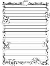fall autumn writing paper by minds and hearts tpt