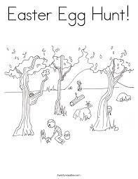 easter colouring easter egg hunt 28 images preschool easter