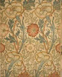 Block Print Wallpaper Pink And Rose William Morris 23 163 4a Work Of Art