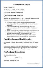 er nurse resume example http resumesdesign com er nurse resume