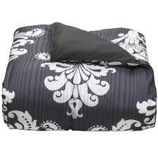 Gray Twin Xl Comforter 5 Ways To Decorate A Dorm Room With Damask The Ocm Blog