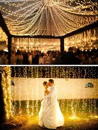 wedding lights wedding