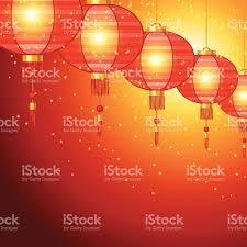 lanterns new year new year background design with lanterns stock vector
