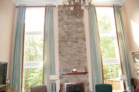 how to dress a bay window with blinds and curtains simple design