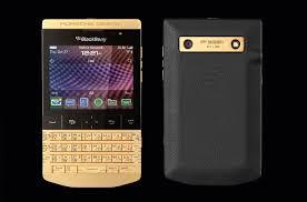 blackberry porsche design porsche design announce the gold blackberry p 9981 crackberry