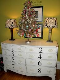 retro vintage christmas tree next year in the guest bedroom i