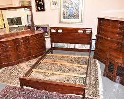 Antique Mahogany Bedroom Furniture 1940 S Bedroom Furniture Etsy