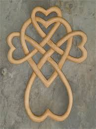 wooden celtic cross celtic heart knot cross wooden crosses