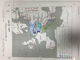 Europe After Ww2 Map by Ava Strasinski E Portfolio Intro Miscellaneous