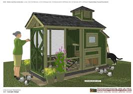 home garden plans m206 chicken coop plans construction