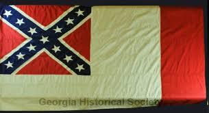 Blood Stained Flag Fort Pulaski U2013 Georgia Historical Society