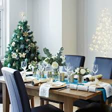 christmas tabletop decoration ideas colorful christmas tabletop decor ideas white purple and teal