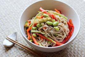 noodle salad recipes soba noodle salad recipe japanese cooking 101