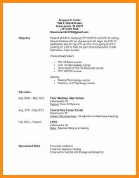 medical coding specialist resume resume sample online
