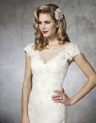 lace sleeves wedding dress 8658 the wedding dolls