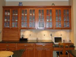 kitchen doors lovely glass kitchen cabinet in interior design
