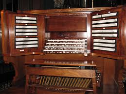 music 1916 pipe organ located in the organ loft of the banquet