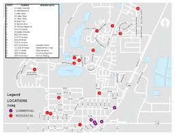 Studio City Map Community Lights Contest Map For Lacombe