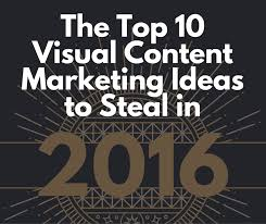 10 best visual content marketing ideas to in 2016 libris