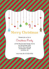 christmas party invitation template redwolfblog com