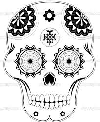 die de los muertoes mexican tattoo design real photo pictures