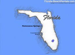 Clearwater Beach Florida Map by Homosassa Springs Wildlife State Park