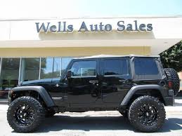 used lifted jeep wrangler unlimited for sale 2012 jeep wrangler unlimited custom lifted 4x4 for sale in got