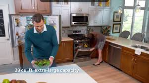 Samsung French Door Refrigerator Cu Ft - samsung rf25hmedbww 33 inch 4 door french door refrigerator with