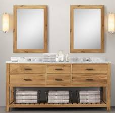 wnut02 72 double wooden bathroom vanity in light walnut color from