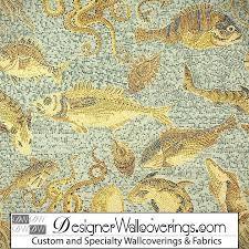 under the sea wallpaper mosaic tile effect pal 42022