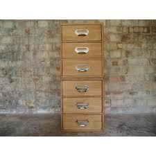 Vintage Oak Filing Cabinet Wooden Filing Cabinet