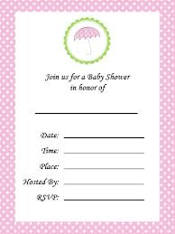 baby shower invitation cards make your own baby shower invitations