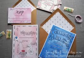 personalized wedding invitations custom wedding invitation suite wedding invites watercolor