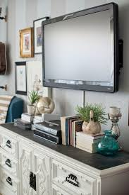 Led Tv Table Decorations Best 25 Decorating Around Tv Ideas Only On Pinterest Tv Wall