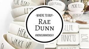 where to buy rae dunn mondunnmonday youtube