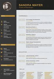 Sample Graphic Design Resume by Designer Resume Template U2013 8 Free Samples Examples Format