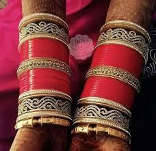 punjabi wedding chura if you want any design any color any punjabi wedding chura