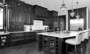 Bar Kitchen Cabinets by Kitchen Attractive Dark Kitchen Cabinet Pictures With Black High