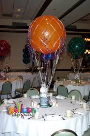 balloon centerpiece hot air balloon centerpiece balloon utopia