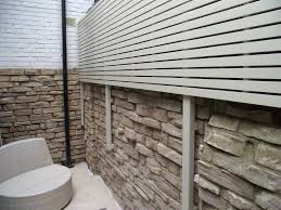 contemporary painted slatted panels the garden trellis company