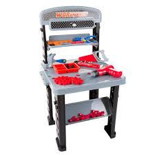 Kids Tool Bench Home Depot Pretend Play Tool Set And Workbench M330015 The Home Depot