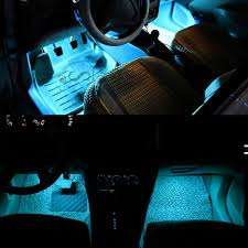 aliexpress com buy 4 pieces dc 12v car interior led lights ice