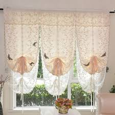 online get cheap tie top curtains aliexpress com alibaba group