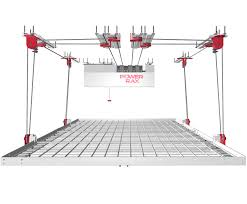 Garage Ceiling Storage Systems by Powerrax Motorized Garage Overhead Storage Powerrax Motorized