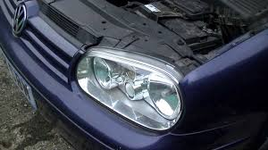 vw golf jetta mk4 headlight bulb replacement 1999 2005 youtube