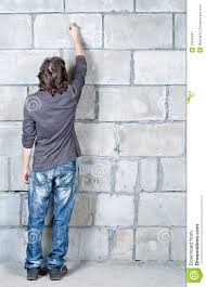 writing on wall royalty free stock photography image 16649097