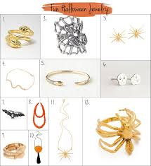 inspiring halloween inspired jewelry best moment halloween jewelry