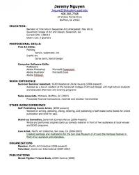 Resume Creator For Free by Resume For High Student Free Resume Templates For High