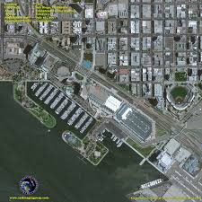 San Diego City Map by Geoeye 1 Satellite Image Of San Diego California Satellite